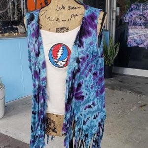 Space your Face Tie Dyed Vest