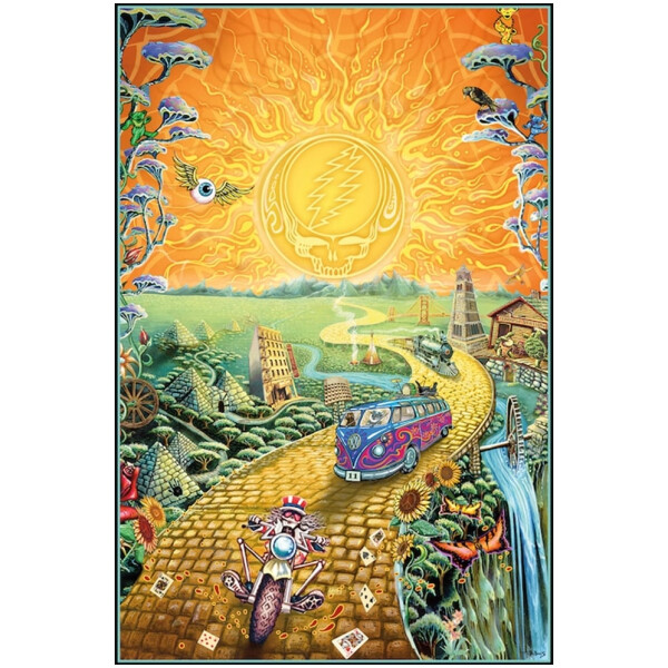 Grateful Dead Golden Road Poster