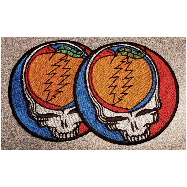 Grateful Dead Allman Brothers Embroidered Patch