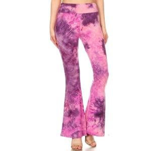Pink Tie Dyed Leggings