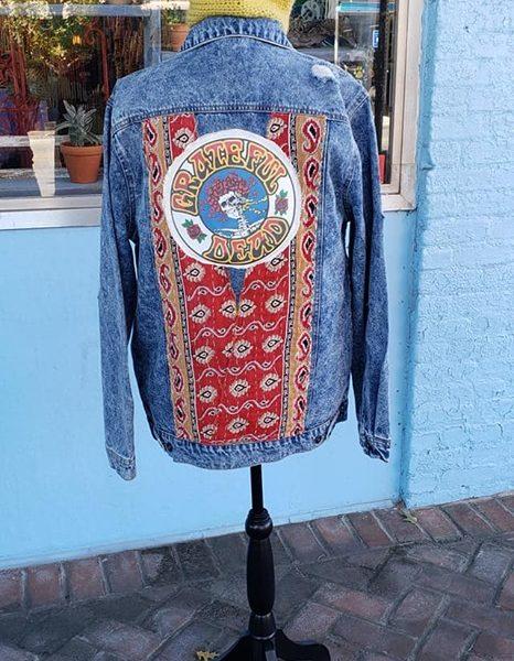Grateful Dead Bertha Kantha Jacket