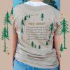 Tree Hugger Organic T-Shirt - Back
