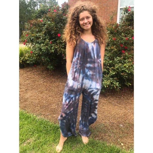 Tie Dye Jumpsuit by Little Hippie Chick