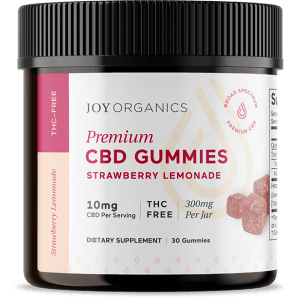CBD Gummies by Joy Organics - Strawberry Lemonade