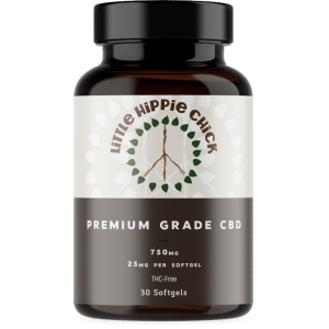 CBD Softgels by Little Hippie Chick