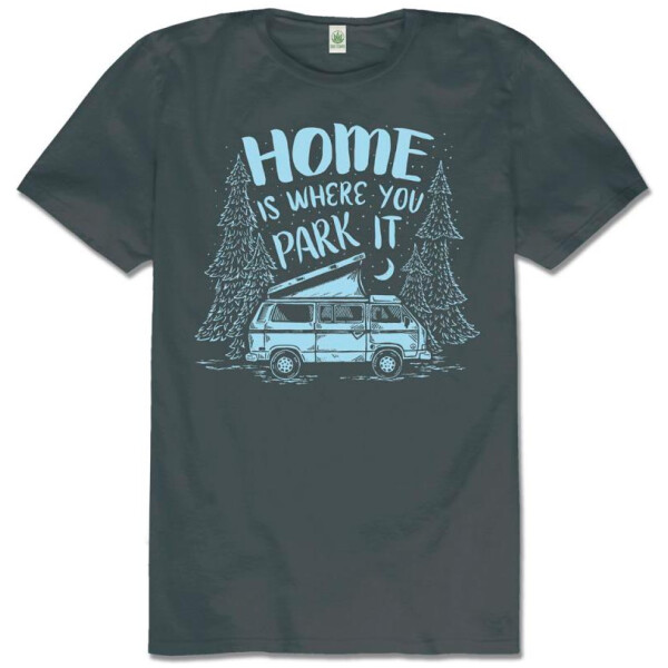 Home Is Where You Park It Organic T-Shirt