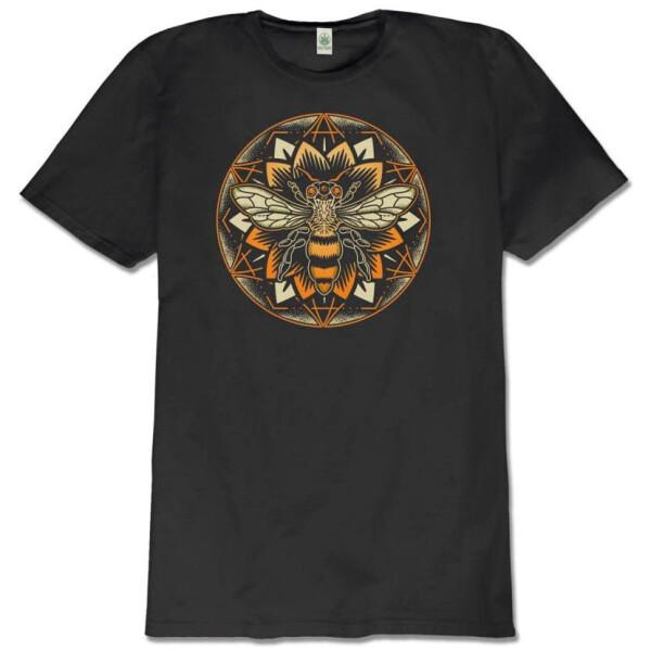 Bee Mandala Organic Shirt