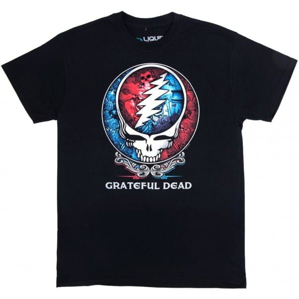 Bertha Steal Your Face Grateful Dead Shirt