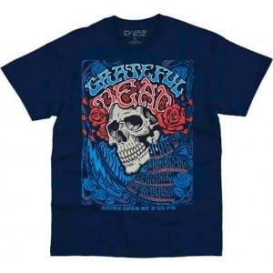 Bertha Winterland Ballroom Grateful Dead Shirt