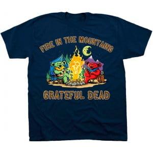 Fire In The Mountain - Grateful Dead TShirt