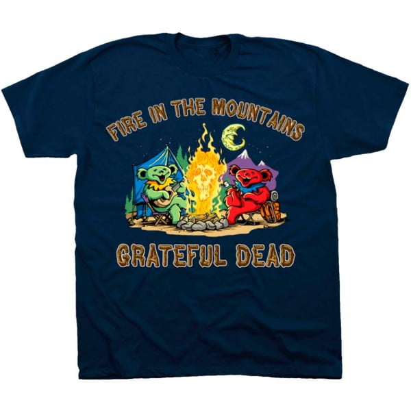 Fire In The Mountain - Grateful Dead TShirt