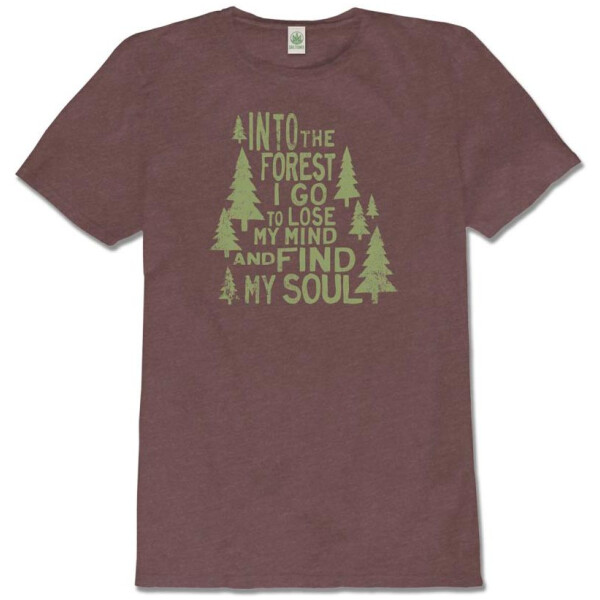 Into the Forest I Go - Recycled T-Shirt