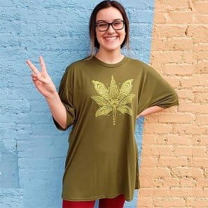 Sacred Cannabis Hemp Shirt