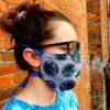 Grateful Dead Face Mask Cover - Bertha Style