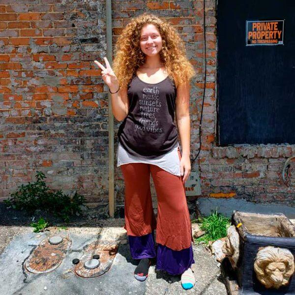 Morning Flow Yoga Pants - Rust