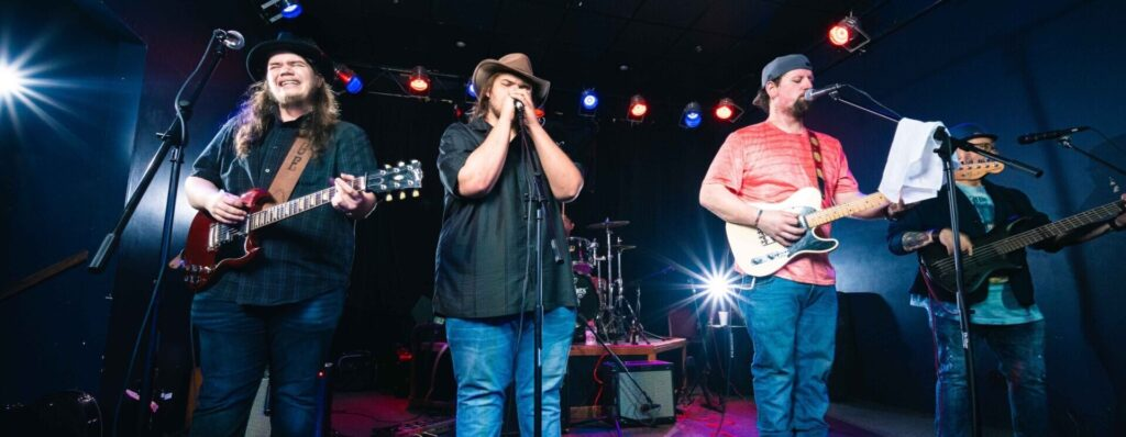 Page Brothers Band - appearing at Little Hippie Chick