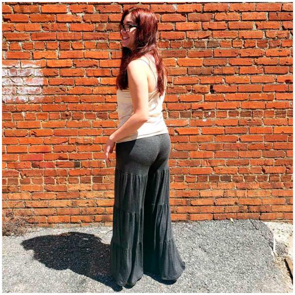 Tier Yoga Pants - Charcoal