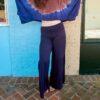 Tier Yoga Pants - Navy