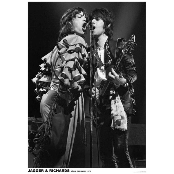Rolling Stones - Mick Jagger and Keith Richards Poster