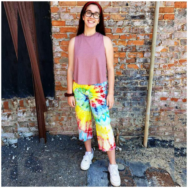 Tie Dyed Yoga Pants