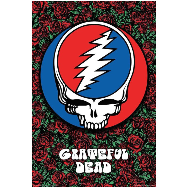 Grateful Dead Steal Your Face on Roses
