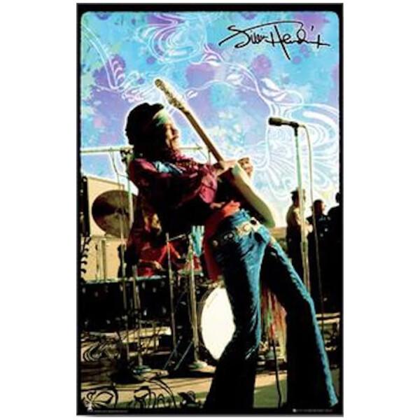 Jimi Hendrix Psychedelic Sky