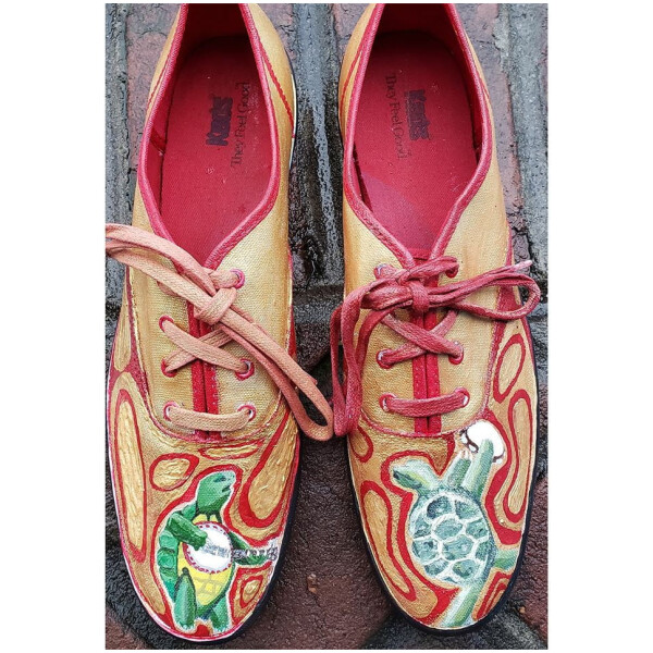 Grateful Dead Terrapin Station Hand Painted Shoes