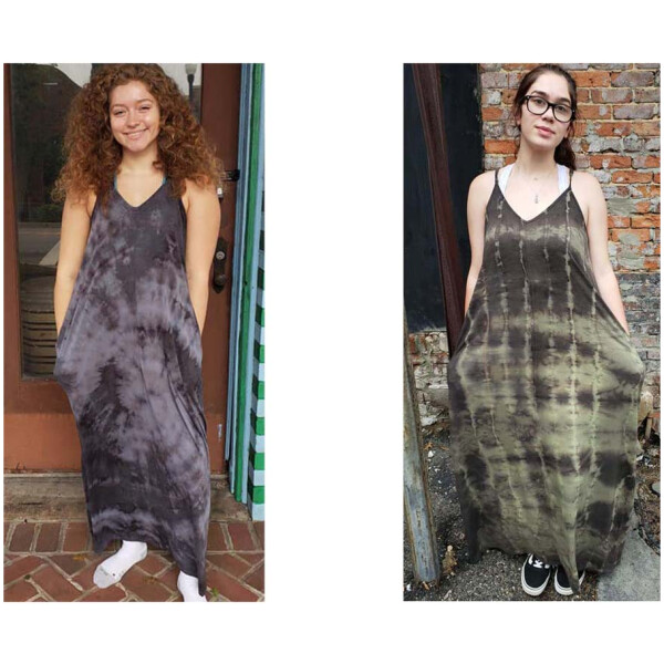 Tie Dyed Tank Dresses