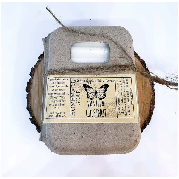 Vanilla Chestnut Goats Milk Soap