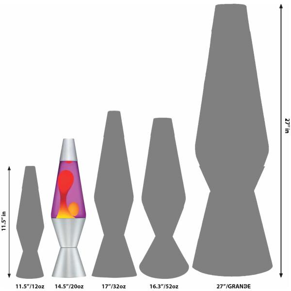 Lava Lamp Size Guide