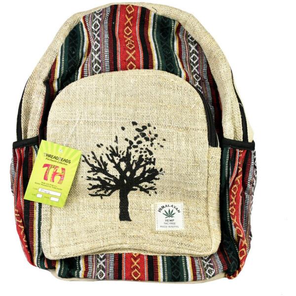 ThreadHeads Himalayan Hemp Tree Hugger Backpack
