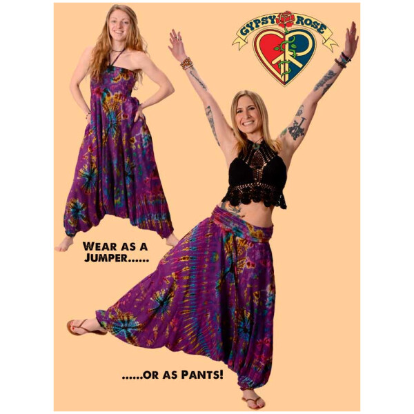 Lady Madonna Harem Pants