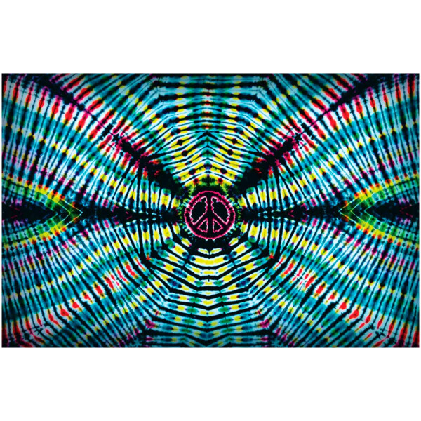 Peace Wave Tapestry