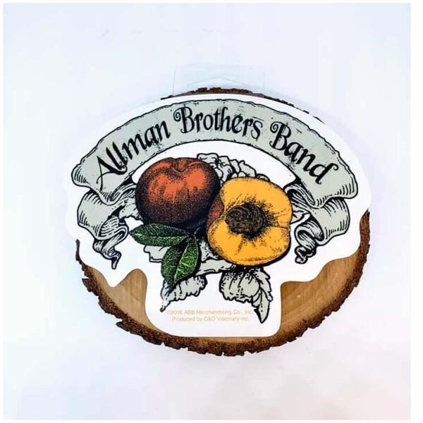 Allman Brothers Band Peach Sticker