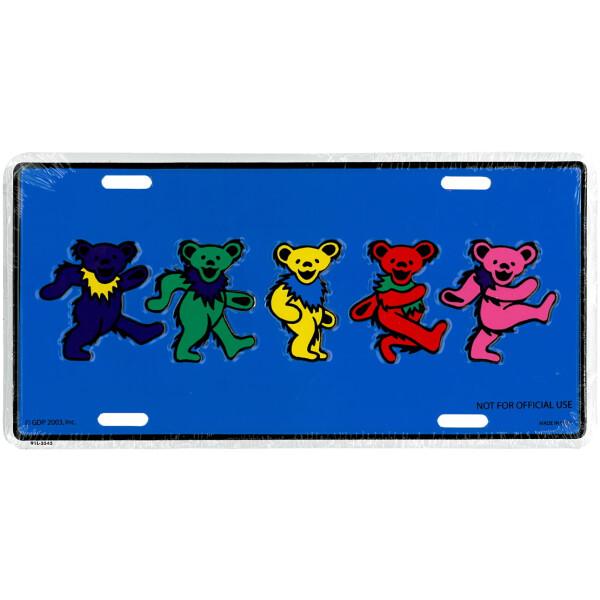 License Plates - Dancing Bears