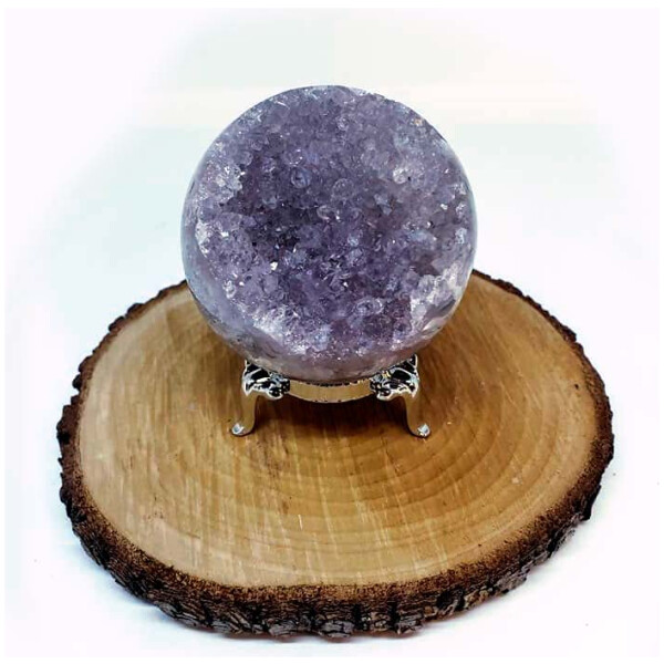 Polished Geode Sphere