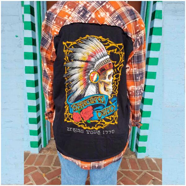 Flannel Grateful Dead Spring Tour 90