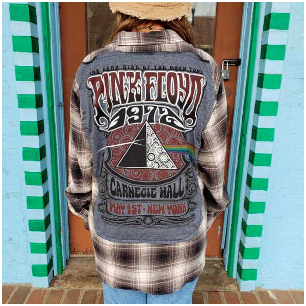 Pink Floyd Flannel Size Large