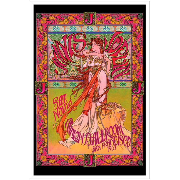 Janis Joplin Marquee Poster