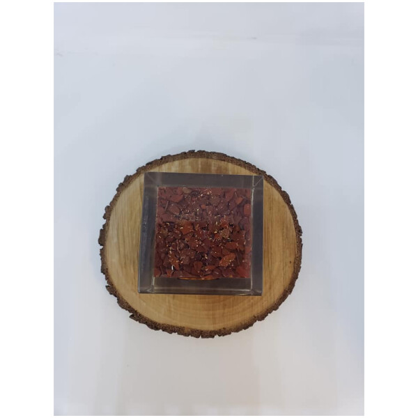 Chakra 7 Stone Orgone Cube