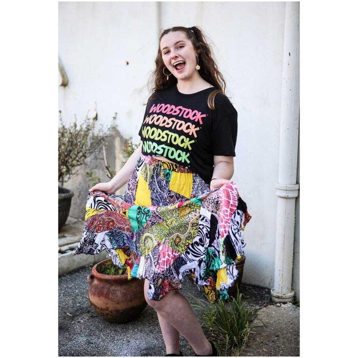 Patchwork Skirt
