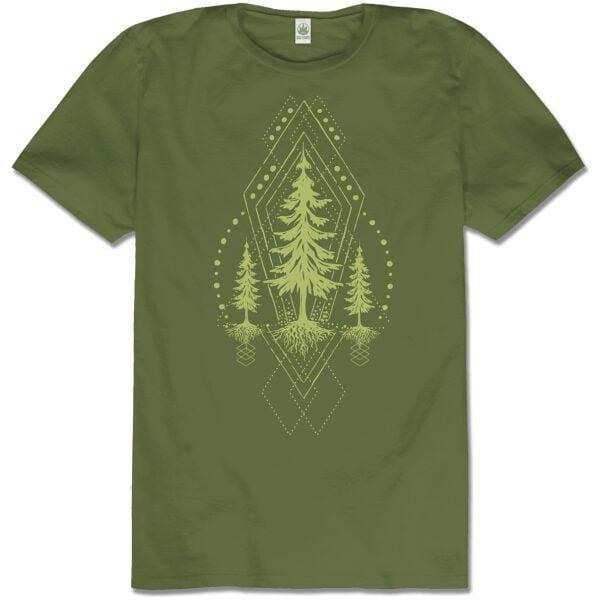 Sacred Pine Hemp Shirt
