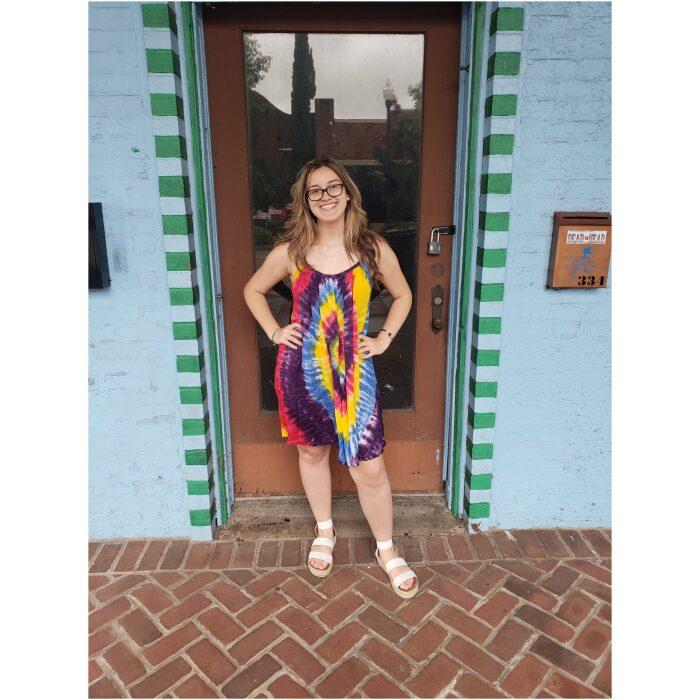 Tie Dyed parachute dress