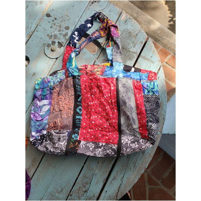 Patchwork Duffel Bag