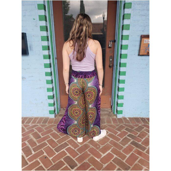 Purple Haze Split Leg Pants