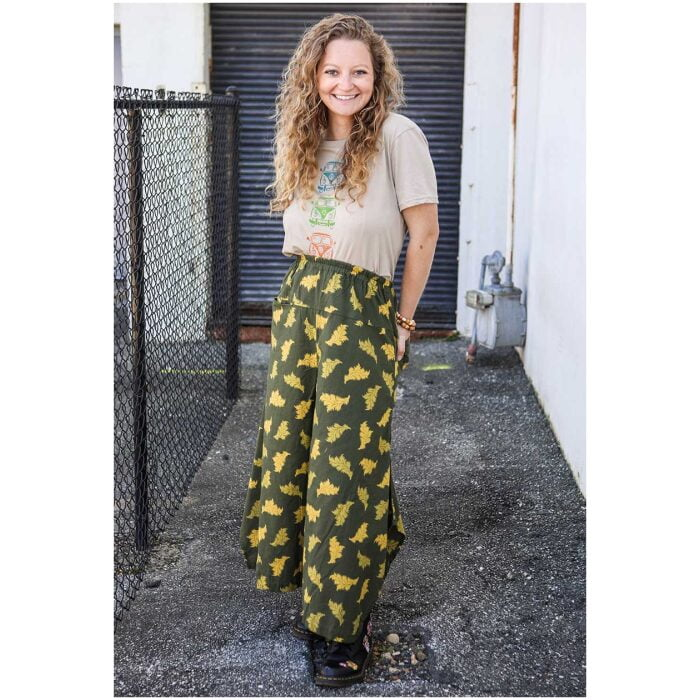 Patterned Tinkerbell Pants