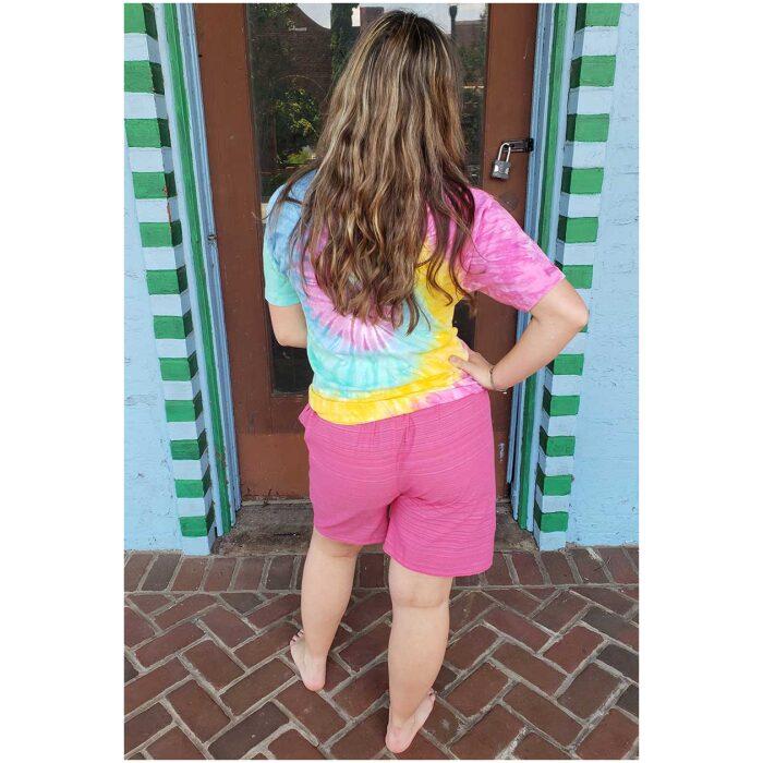 Pin Stripe Unisex Shorts