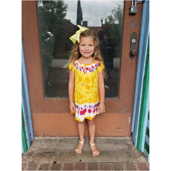 Kids Tie Dyed Dress/Shirt