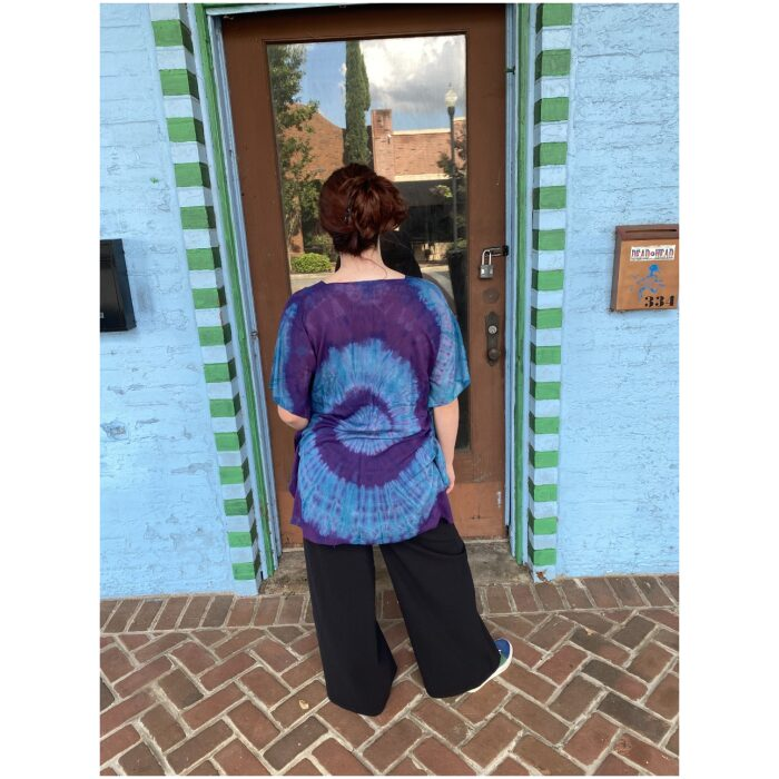 Electric Forest Tie Dyed Poncho Top