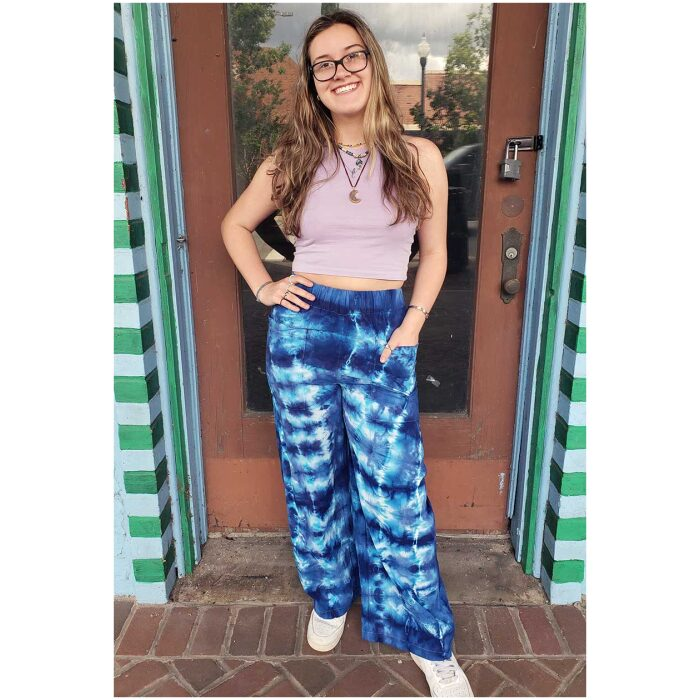 Tie Dyed Woven Pants